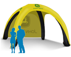 17X17 Inflatable Tent Packages
