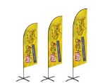 Angled Flags