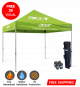 pop up canopies with logo