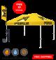 custom printed canopy tents