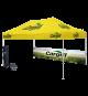 Popup canopy tent
