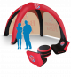 pop up inflatable tent
