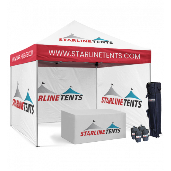 college logo canopy tent