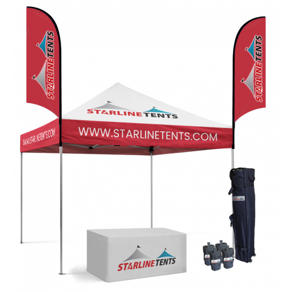 pop up tents with business logo