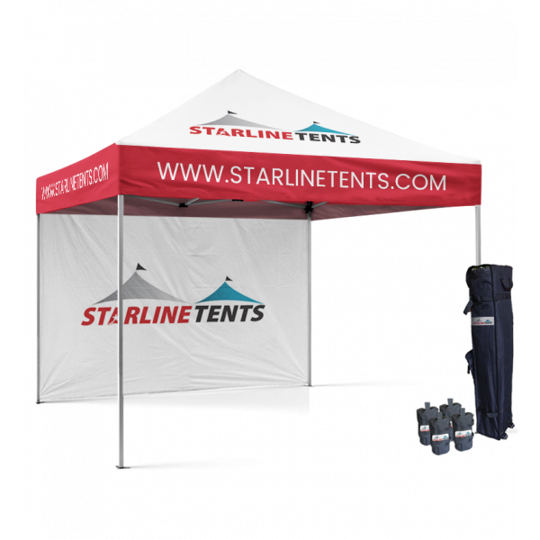 pop up tent with logo