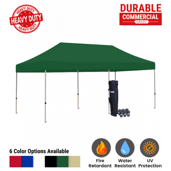 10x20 Blank Pop Up Canopy Tent