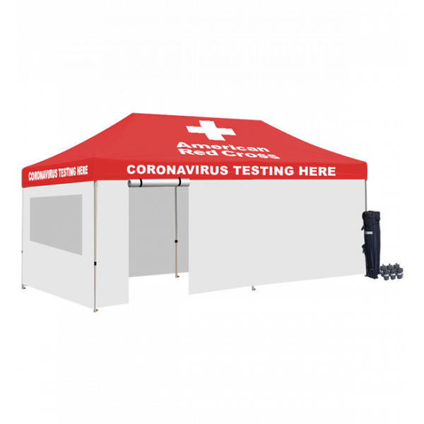 Medical Tent White or Red Walls