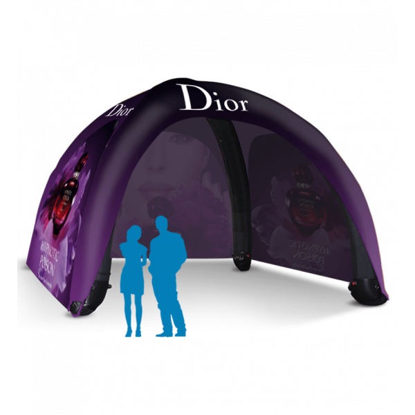 custom trade show inflatable tent