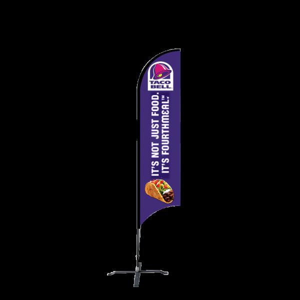 9ft Custom Sunblade Flag (Medium)