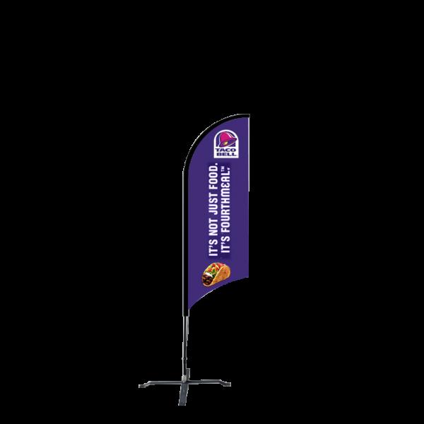 6ft Custom Sunblade Flag (Small)