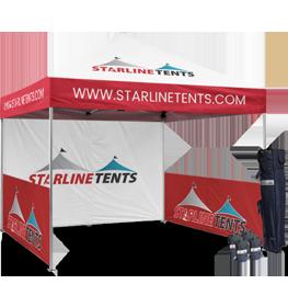custom tents with logo